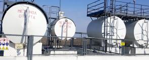 Проектные работы по техническому переоснащению емкостей хранения ингибиторов на технологических площадках.